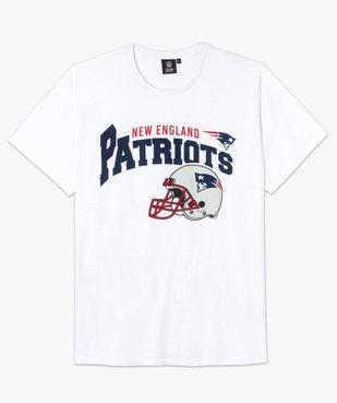 Tee-shirt homme imprimé football amércain - Team apparel vue4 - NFL - GEMO