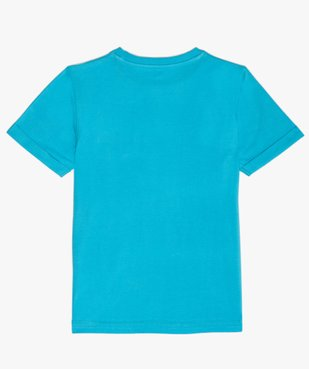 Tee-shirt garçon à manches courtes effet tie-and-dye vue3 - GEMO (ENFANT) - GEMO