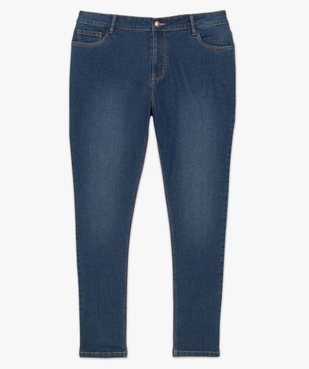 Jean femme extensible coupe Slim vue4 - GEMO (G TAILLE) - GEMO
