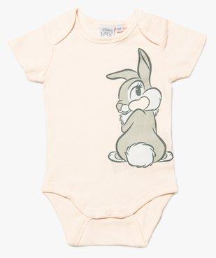 Body bébé fille avec motifs animaux – Disney baby vue1 - DISNEY DTR - GEMO