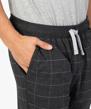 Short de pyjama homme en jersey à taille élastiquée vue2 - GEMO(HOMWR HOM) - GEMO