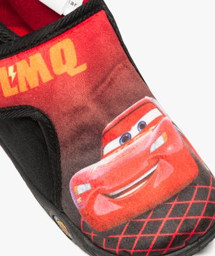Chaussons bébé garçon semi-montants à scratch Flash McQueen vue6 - CARS - GEMO