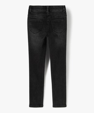 Jean fille coupe Ultra skinny vue3 - Nikesneakers (ENFANT) - Nikesneakers