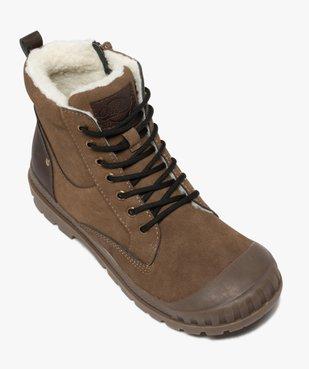 Boots garçon zippées à bout renforcé et col rembourré vue5 - Nikesneakers (ENFANT) - Nikesneakers