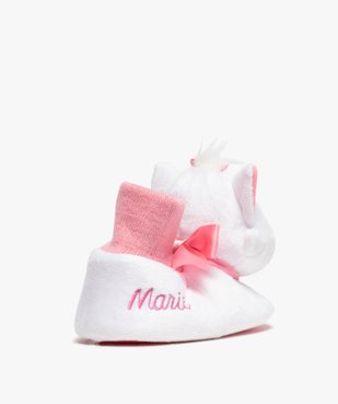Chaussons fille peluche Marie – Les Aristochats vue4 - ARISTOCHATS - GEMO