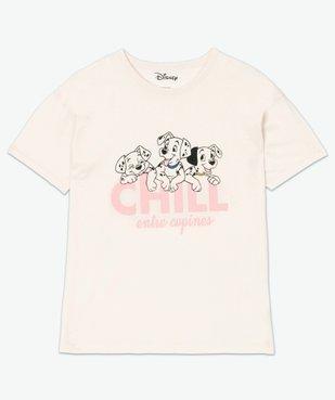 Tee-shirt femme large - Disney Animals Les 101 dalmatiens vue4 - DISNEY DTR - GEMO