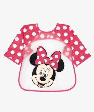 Bavoir à manches Minnie - Disney vue1 - MINNIE - GEMO