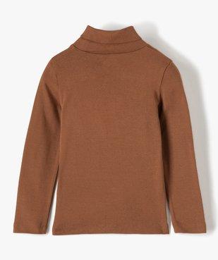 Tee-shirt garçon imprimé à manches longues et col montant vue3 - Nikesneakers (ENFANT) - Nikesneakers