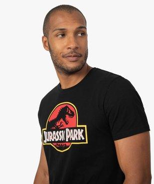 Tee-shirt homme avec motif Jurassic Park vue2 - NBCUNIVERSAL DT - GEMO