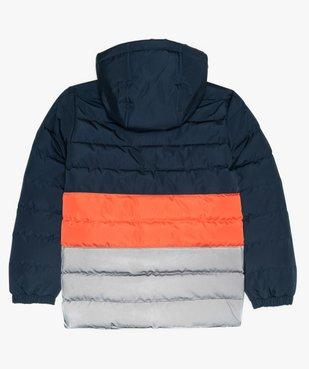 Blouson garçon matelassé tricolore à capuche - Tokyo Laundry vue3 - AUTRES MARQUES - Nikesneakers