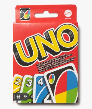 Jeu de cartes Uno - Mattel vue1 - DIVERS LICENCE - GEMO