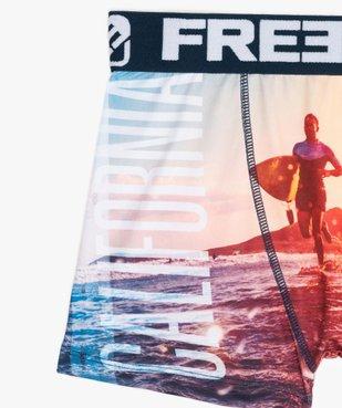 Boxer garçon à motif surf - Freegun vue2 - FREEGUN - GEMO