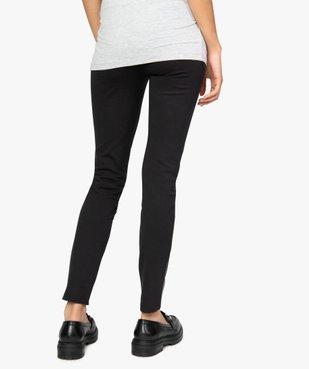 Pantalon femme ajusté bimatière vue3 - Nikesneakers (MATER) - Nikesneakers