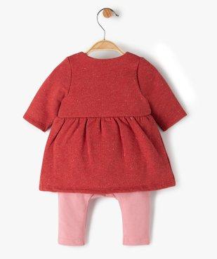 Combinaison bébé fille effet 2-en-1 - Sucre d'Orge vue3 - SUCRE D'ORGE - Nikesneakers