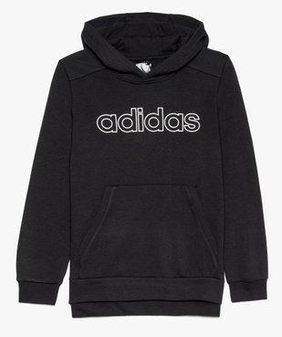 Sweat garçon avec capuche et inscription sur l'avant - Adidas vue1 - ADIDAS - GEMO