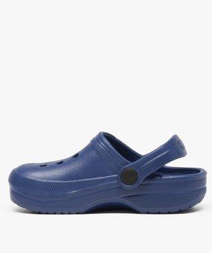 Sabots garçon unis avec perforations vue3 - Nikesneakers (ENFANT) - Nikesneakers