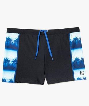Maillot de bain homme forme boxer à motifs palmiers - Freegun vue1 - FREEGUN - GEMO