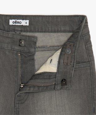 Bermuda garçon en jean coupe Regular vue3 - GEMO (ENFANT) - GEMO