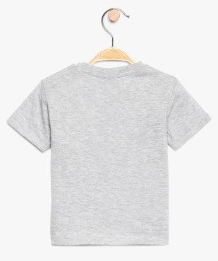 Tee-shirt bébé garçon à motifs - SmileyWorld vue2 - SMILEY - GEMO