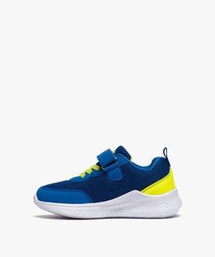Chaussures de running garçon à scratch - Umbro vue3 - UMBRO - GEMO