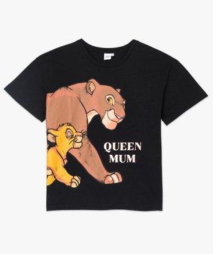 Tee-shirt femme oversize avec motif XXL - Disney vue4 - DISNEY DTR - GEMO