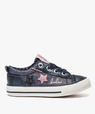 Baskets fille avec paillettes et étoiles - LuluCastagnette vue1 - LULU CASTAGNETT - Nikesneakers