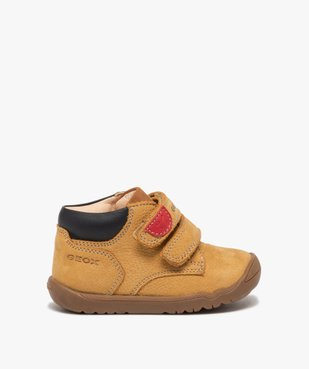 Chaussures premiers pas bébé en cuir - Geox vue1 - GEOX - GEMO