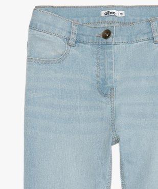 Jean fille coupe slim extensible 4 poches vue3 - GEMO (JUNIOR) - GEMO