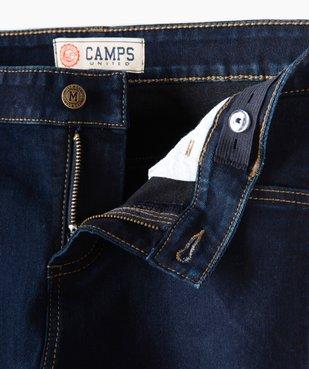 Jean fille brut coupe slim en coton stretch - Camps vue3 - CAMPS UNITED - GEMO