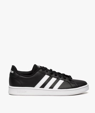 Baskets homme bicolores à lacets - Adidas Grand Court Base vue1 - ADIDAS - Nikesneakers