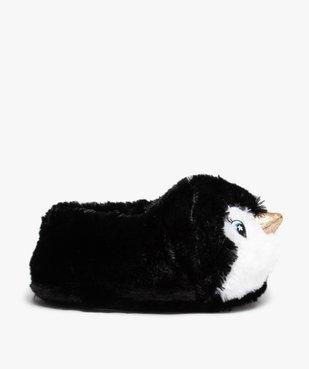 Chaussons femme 3D en forme de pingouins vue1 - GEMO(HOMWR FEM) - GEMO