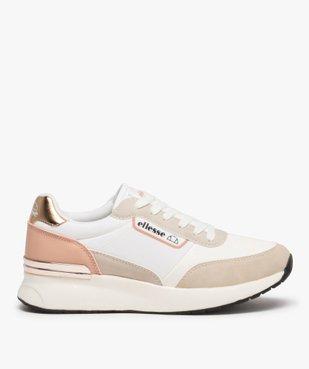 Baskets femme multi-matières à lacets - Ellesse vue1 - ELLESSE - Nikesneakers