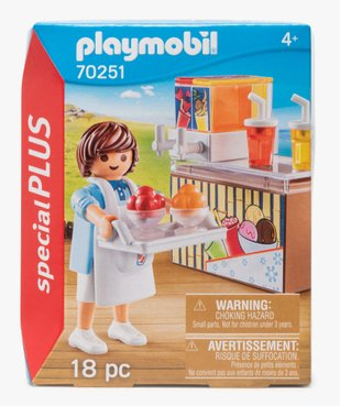 Jouet enfant Vendeur de glace - Playmobil vue1 - DIVERS LICENCE - GEMO