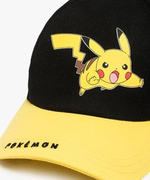 Casquette garçon avec motif et visière contrastante - Pokemon vue2 - POKEMON - Nikesneakers