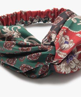 Bandeau pour les cheveux femme à motifs fleuris vue2 - GEMO (ACCESS) - GEMO