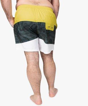 Short de bain homme tricolore vue3 - Nikesneakers (PLAGE) - Nikesneakers
