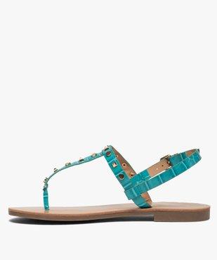 Sandales femme à entre-doigts avec clous décoratifs - Only Only vue3 - ONLY - GEMO