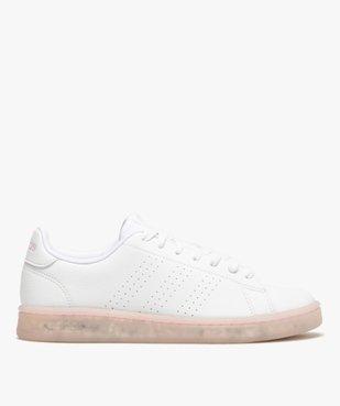 Baskets femme unies – Adidas Advantage Primegreen vue1 - ADIDAS - GEMO