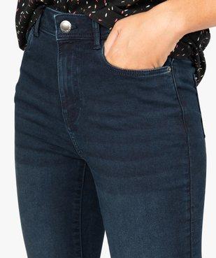 Jean femme skinny taille haute super stretch vue2 - GEMO(FEMME PAP) - GEMO
