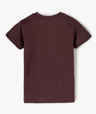 Tee-shirt garçon motif fantaisie football vue3 - SANS MARQUE - Nikesneakers