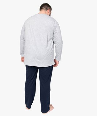 Pyjama homme à manches longues vue3 - Nikesneakers(HOMWR HOM) - Nikesneakers