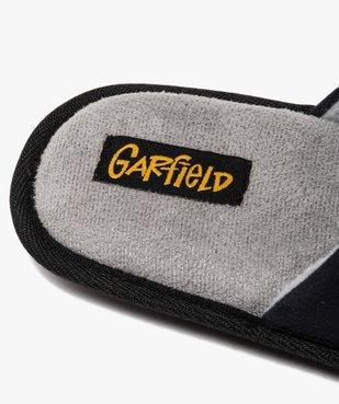 Chaussons homme mules en velours imprimé - Garfield vue6 - GARFIELD - Nikesneakers