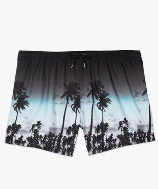 Short de bain homme à motifs palmiers - grande taille vue1 - Nikesneakers (PLAGE) - Nikesneakers