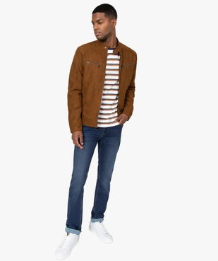 Jean homme coupe slim vue5 - Nikesneakers (HOMME) - Nikesneakers