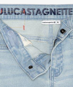 Bermuda garçon en jean stretch - Lulu Castagnette vue3 - LULUCASTAGNETTE - GEMO