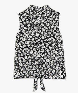 Chemise femme imprimée sans manches vue4 - GEMO(FEMME PAP) - GEMO