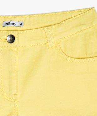 Short fille en coton extensible avec revers cousus vue2 - Nikesneakers (JUNIOR) - Nikesneakers