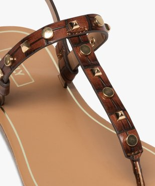 Sandales femme à entre-doigts avec clous décoratifs - Only Only vue6 - ONLY - GEMO