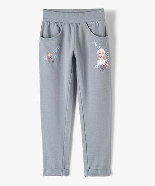 Pantalon de jogging fille – La Reine des Neiges vue1 - REINE DES NEIGE - GEMO
