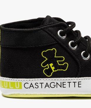 Tennis de naissance bébé garçon à lacets – Lulu Castagnette vue6 - GEMO C4G BEBE - GEMO